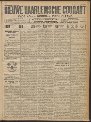 Nieuwe Haarlemsche Courant 1911-02-27
