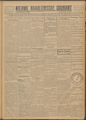 Nieuwe Haarlemsche Courant 1927-08-30