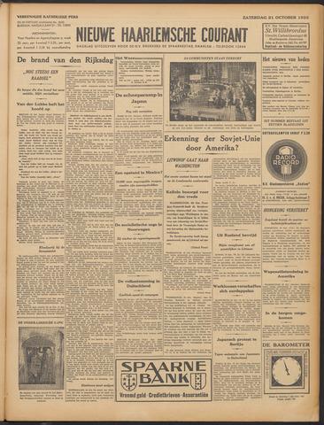 Nieuwe Haarlemsche Courant 1933-10-21