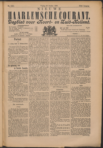 Nieuwe Haarlemsche Courant 1900-10-26