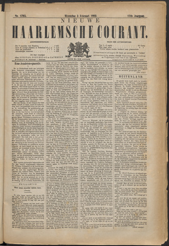 Nieuwe Haarlemsche Courant 1892-02-03