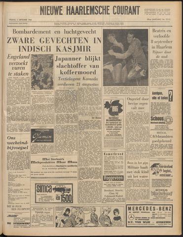 Nieuwe Haarlemsche Courant 1965-09-03