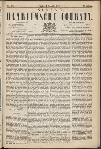 Nieuwe Haarlemsche Courant 1881-09-25