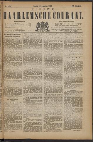 Nieuwe Haarlemsche Courant 1893-08-20
