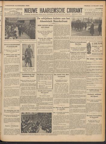 Nieuwe Haarlemsche Courant 1936-03-13