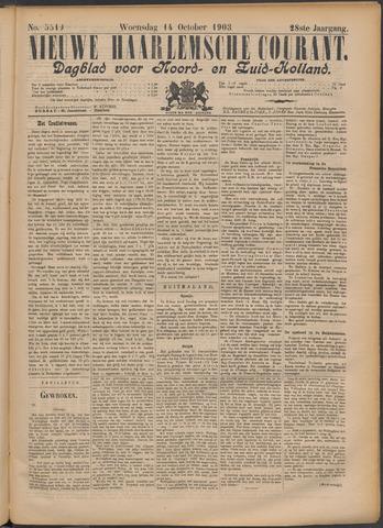 Nieuwe Haarlemsche Courant 1903-10-14