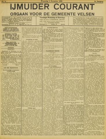 IJmuider Courant 1922-11-08