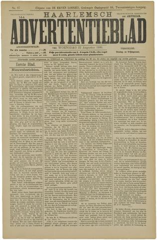Haarlemsch Advertentieblad 1900-08-22