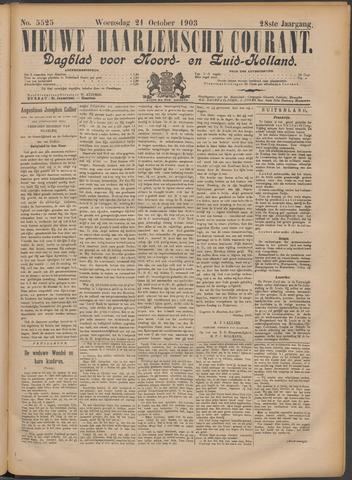 Nieuwe Haarlemsche Courant 1903-10-21