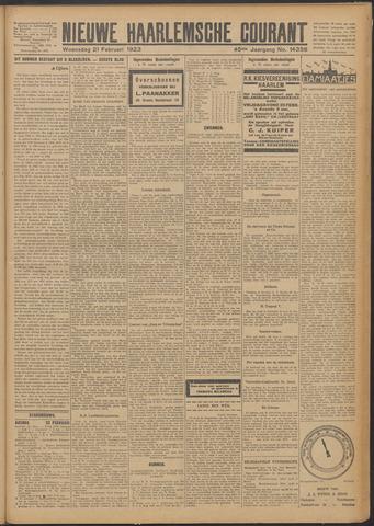 Nieuwe Haarlemsche Courant 1923-02-21