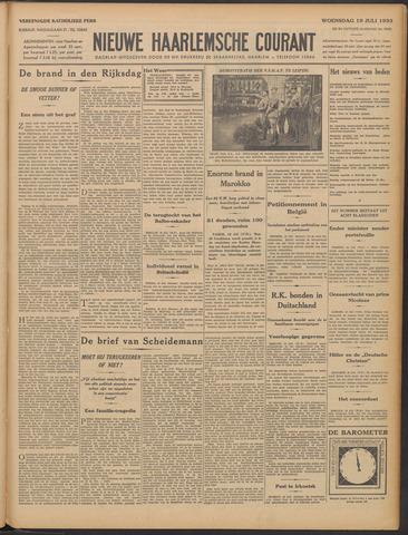 Nieuwe Haarlemsche Courant 1933-07-19