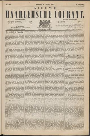 Nieuwe Haarlemsche Courant 1882-02-09