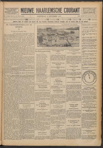 Nieuwe Haarlemsche Courant 1930-09-18