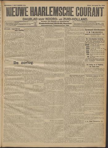 Nieuwe Haarlemsche Courant 1914-09-07