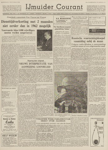 IJmuider Courant 1959-10-06