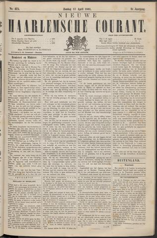 Nieuwe Haarlemsche Courant 1881-04-17
