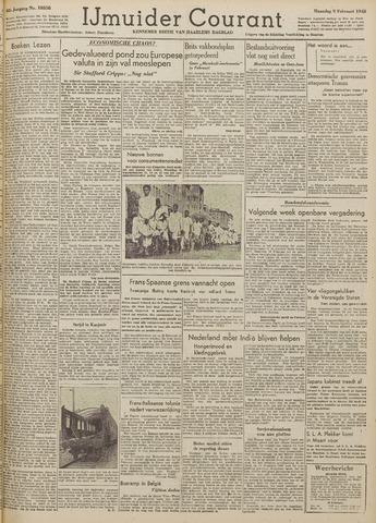 IJmuider Courant 1948-02-09