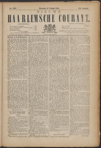 Nieuwe Haarlemsche Courant 1890-02-26