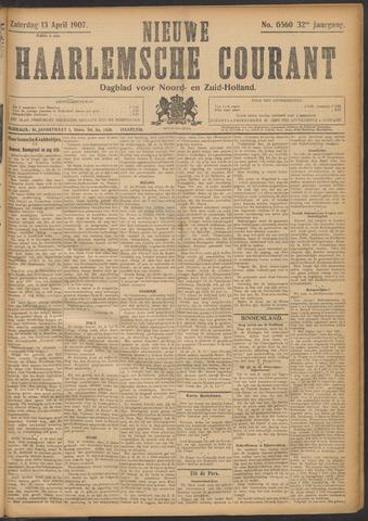 Nieuwe Haarlemsche Courant 1907-04-13