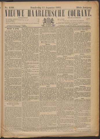Nieuwe Haarlemsche Courant 1895-08-15