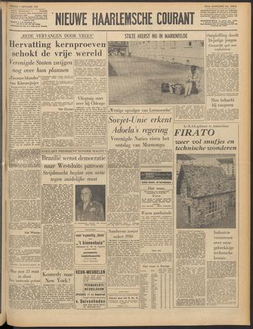 Nieuwe Haarlemsche Courant 1961-09-01