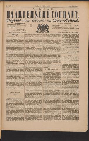 Nieuwe Haarlemsche Courant 1899-10-17