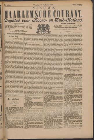 Nieuwe Haarlemsche Courant 1901-09-18