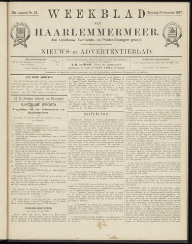 Weekblad van Haarlemmermeer 1887-12-24
