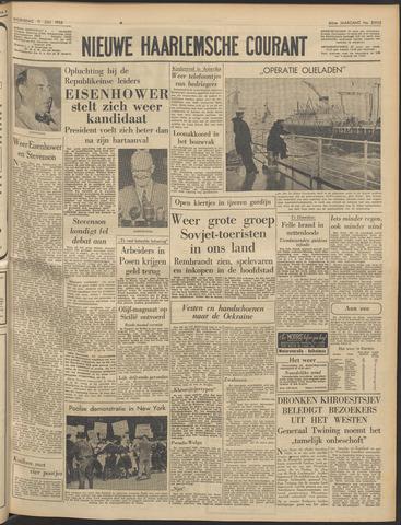 Nieuwe Haarlemsche Courant 1956-07-11