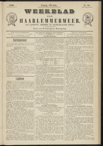 Weekblad van Haarlemmermeer 1880-07-30
