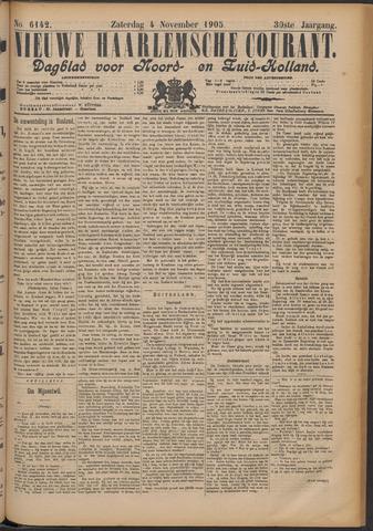 Nieuwe Haarlemsche Courant 1905-11-04