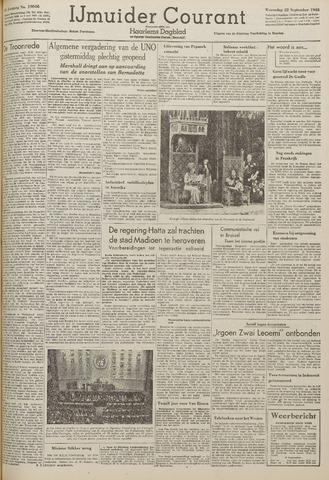 IJmuider Courant 1948-09-22