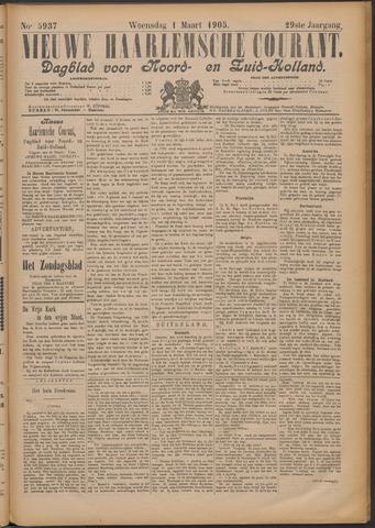Nieuwe Haarlemsche Courant 1905-03-01
