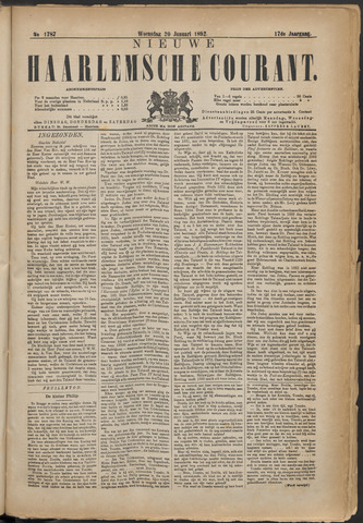 Nieuwe Haarlemsche Courant 1892-01-20