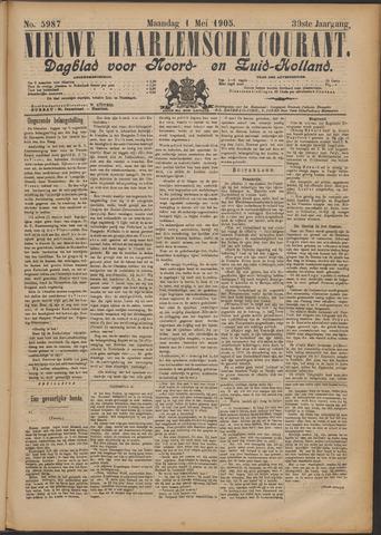 Nieuwe Haarlemsche Courant 1905-05-01