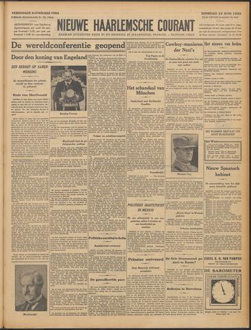 Nieuwe Haarlemsche Courant 1933-06-13