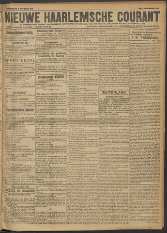 Nieuwe Haarlemsche Courant 1918-10-03