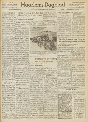 Haarlem's Dagblad 1950-09-09