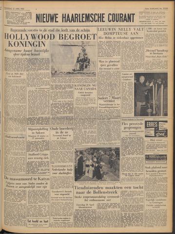 Nieuwe Haarlemsche Courant 1952-04-21