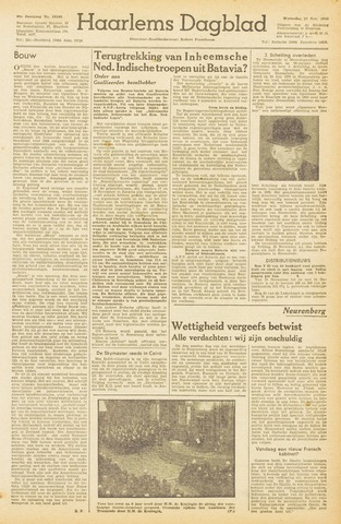 Haarlem's Dagblad 1945-11-21