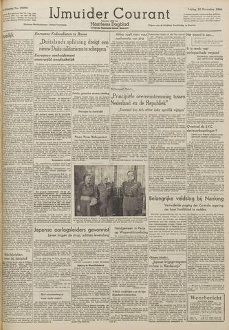 IJmuider Courant 1948-11-12
