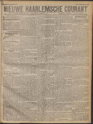 Nieuwe Haarlemsche Courant 1919-11-21