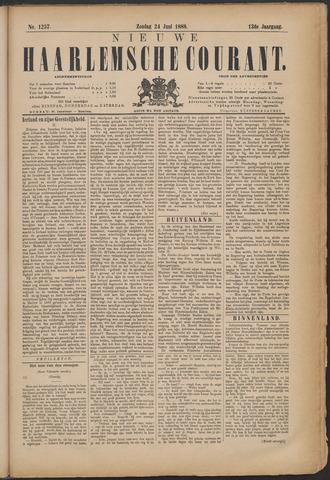 Nieuwe Haarlemsche Courant 1888-06-24