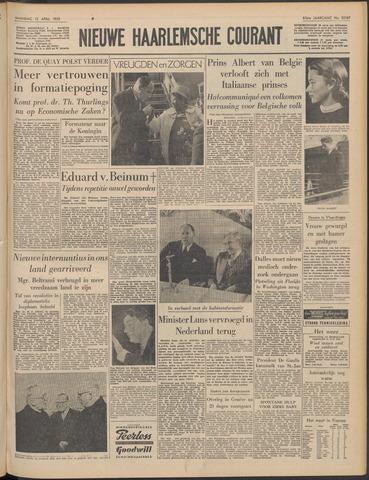 Nieuwe Haarlemsche Courant 1959-04-13