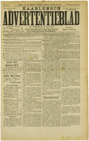 Haarlemsch Advertentieblad 1895-04-24