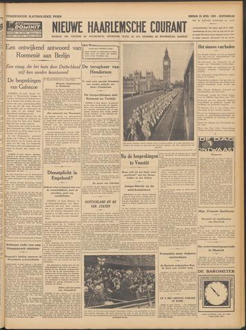 Nieuwe Haarlemsche Courant 1939-04-25
