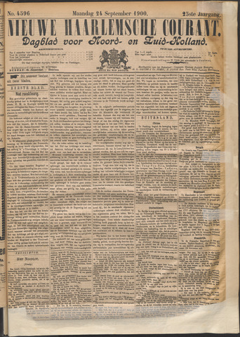 Nieuwe Haarlemsche Courant 1900-09-24