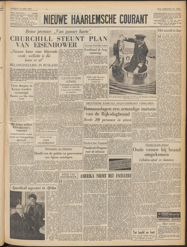 Nieuwe Haarlemsche Courant 1953-04-18