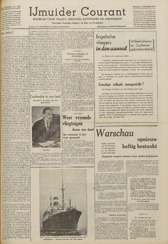 IJmuider Courant 1939-09-05