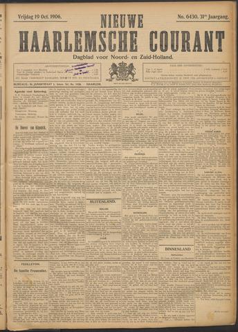 Nieuwe Haarlemsche Courant 1906-10-19